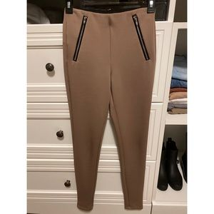 Tan leggings